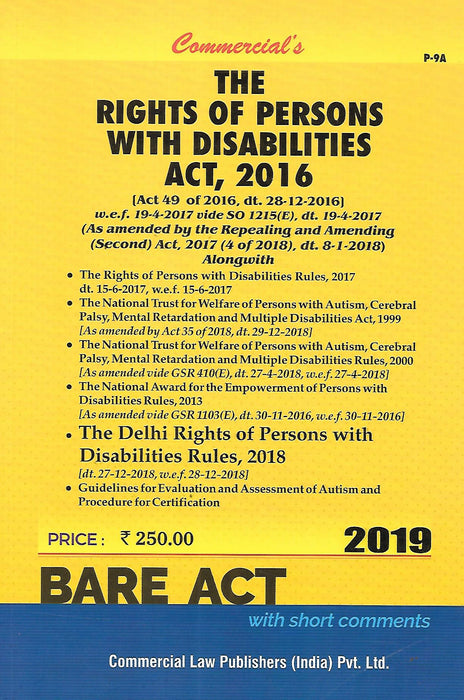 The Rights of Persons with Disabilities Act 2016
