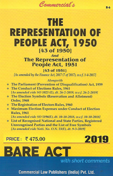The Representation of Peoples Act 1950