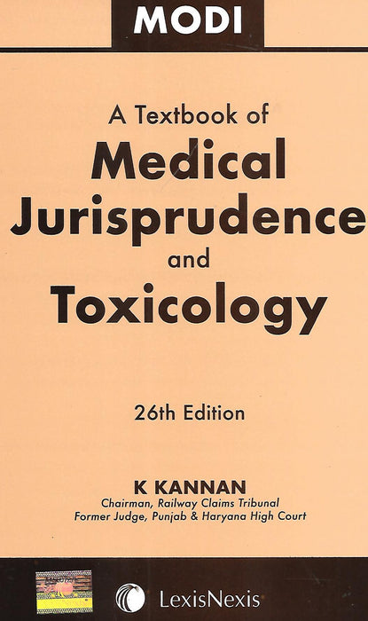 Modi - A textbook of medical Jurisprudence and Toxicology