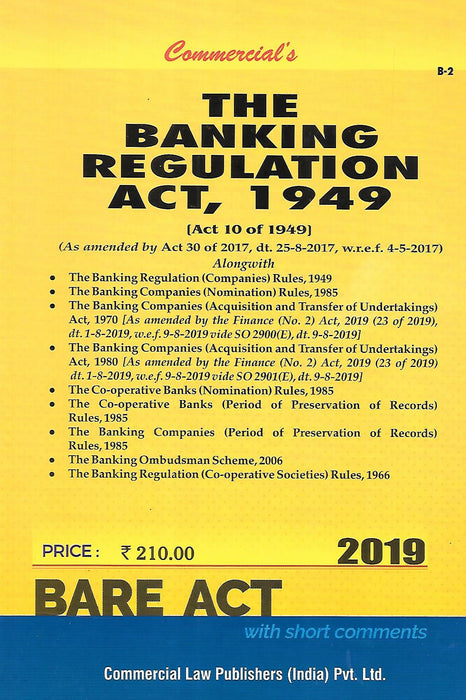 The Banking Regulation Act, 1949
