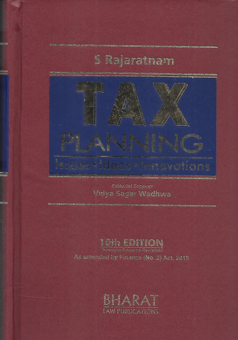 Tax Planning - Isses, Ideas, Innovations