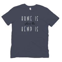 Home is where the hemp is Organic Hemp Tee