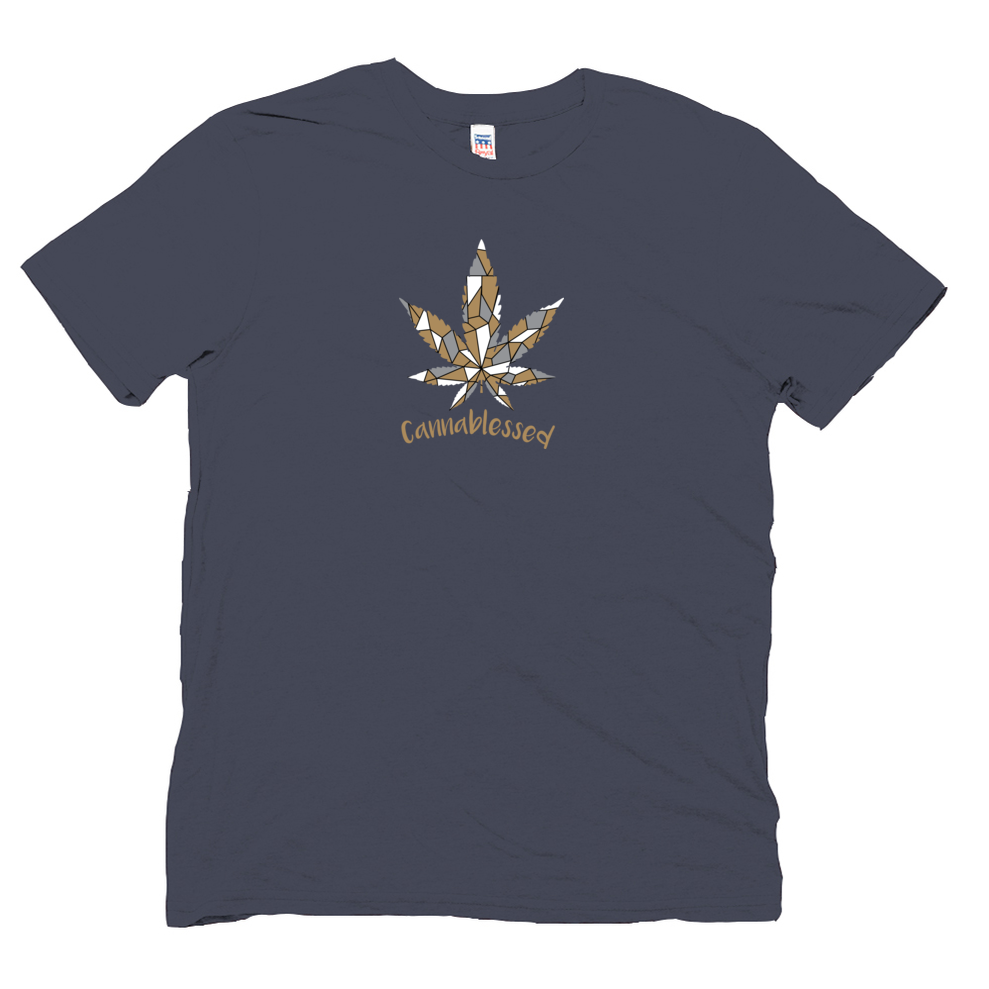 Cannablessed Leaf Organic Hemp Tee