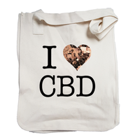 I Love CBD ORGANIC market bag
