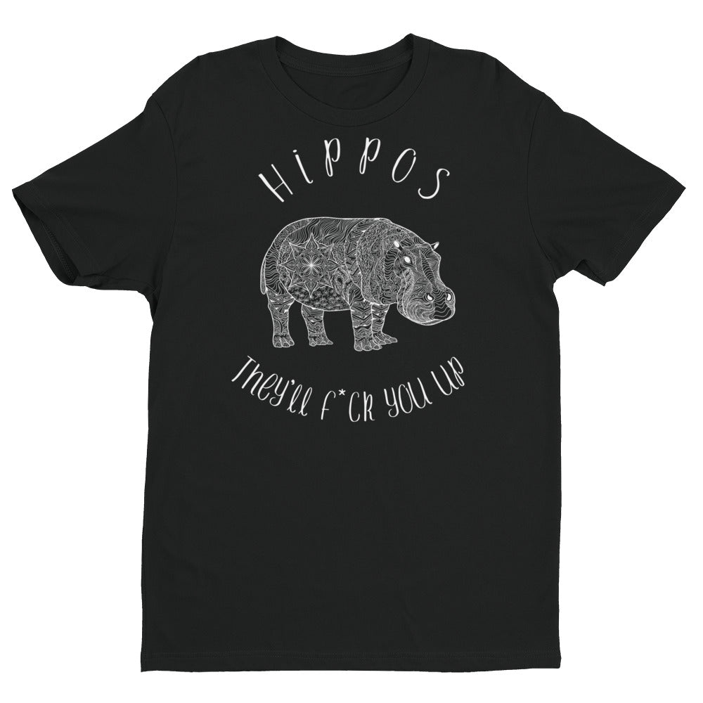 Hippos (They'll f*ck you up) T-shirt Design