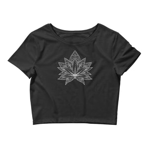 Peace Love and Lotus Crop Top