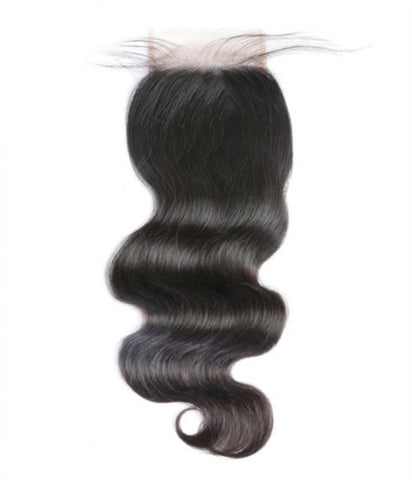 5x5 Brazilian Body Wave Lace Closure - The Belair Beautique