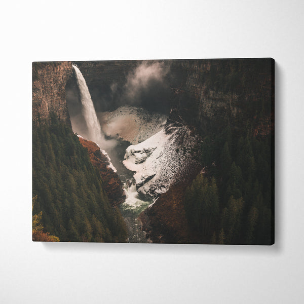 Rocky Mountains in Autumn - CANVASTYLES -  Tablouri Canvas Motivaționale