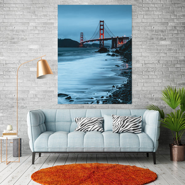 Tablou Golden Gate Bridge, California - CANVASTYLES-CREA LA CASA DEI TUOI SOGNI