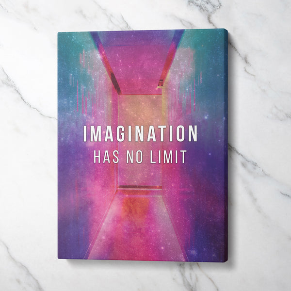 Imagination has no limit - CANVASTYLES-CREA LA CASA DEI TUOI SOGNI