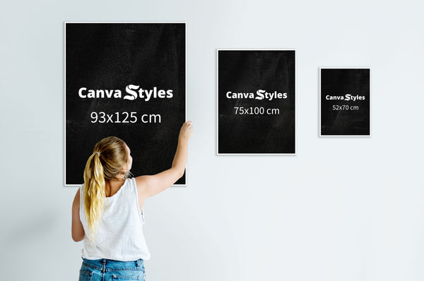 Canvas citat motivational - CANVASTYLES-CREA LA CASA DEI TUOI SOGNI