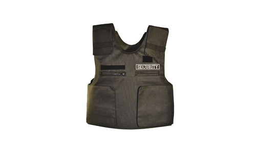 Soft Armour Security Vest, carrier only