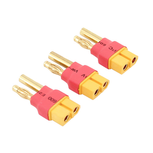 1pce EC5 Female to HXT 4MM Male Bullet No wire Adapter for Turnigy Gens Ace