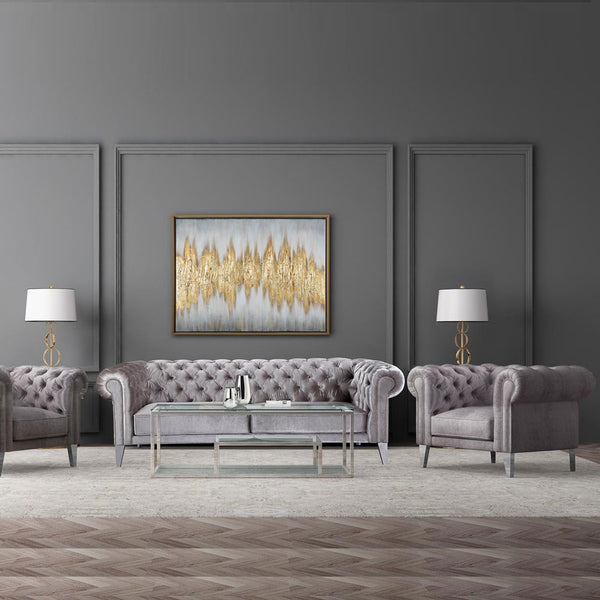 Barolo Steel Coffee Table - Dream art Gallery