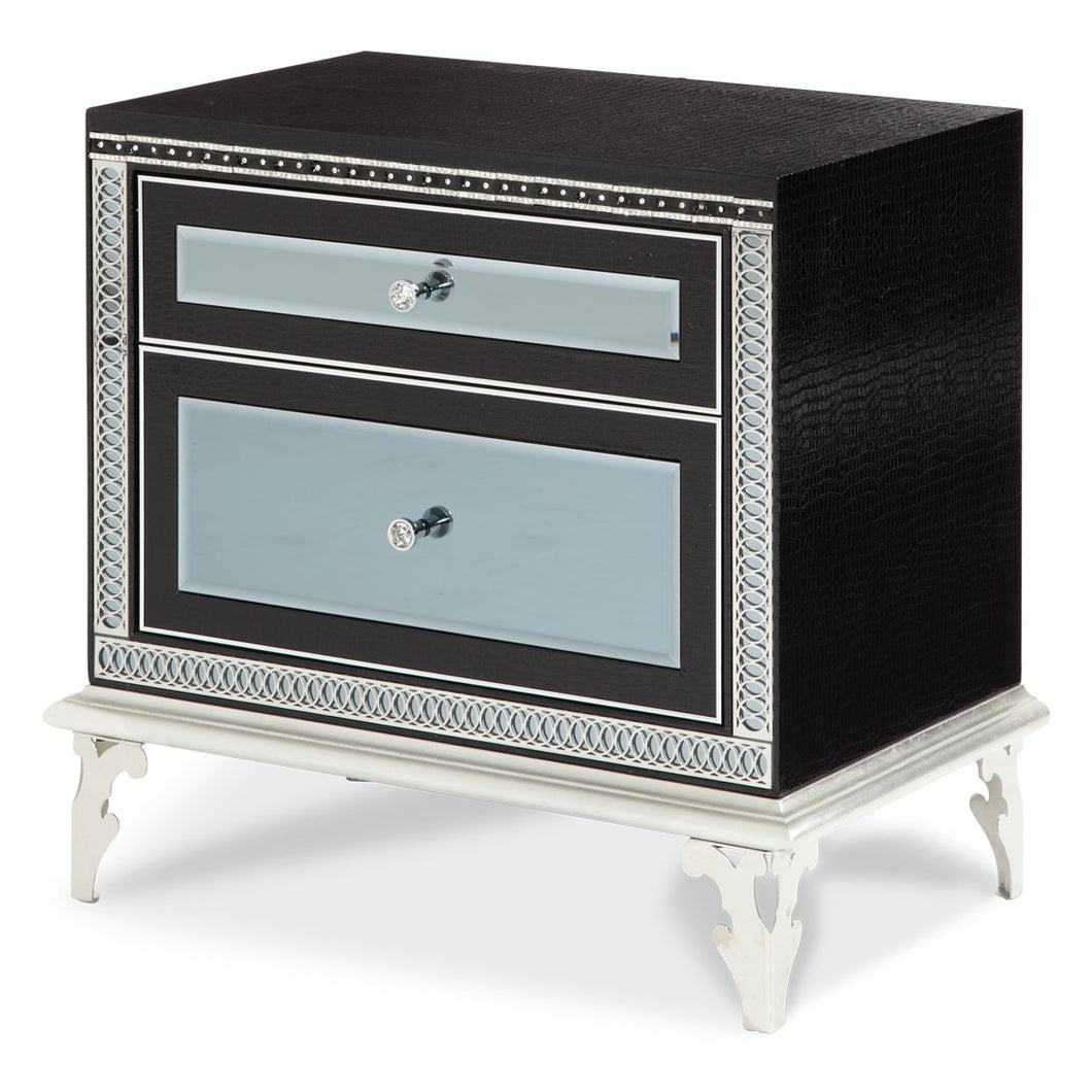 Hollywood Swank Starry Night Nightstand