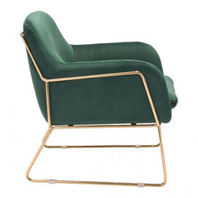 Load image into Gallery viewer, Nadir Arm Chair Green Velvet - Dreamart Gallery