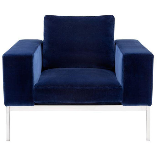 Adder Armchair - Giotto Navy