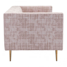 Load image into Gallery viewer, Oasis Sofa Pink Velvet