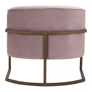 Lyric Occasional Chair Pink Velvet - Dream art Gallery