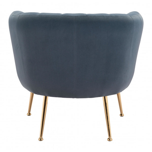 Deco Accent Chair Gray