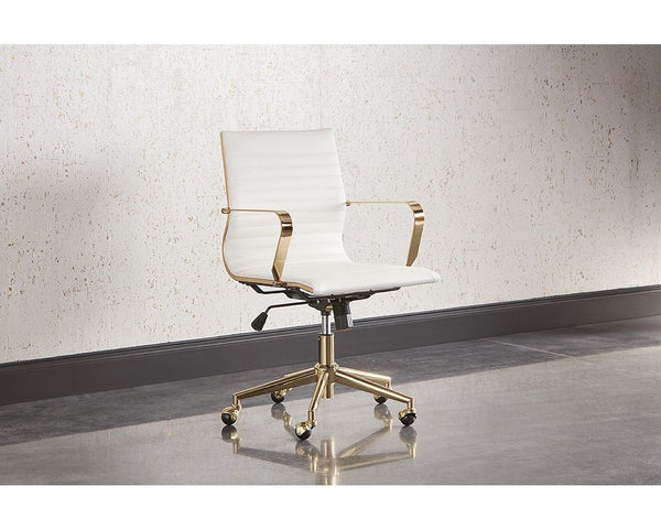 Jessica Office Chair - White