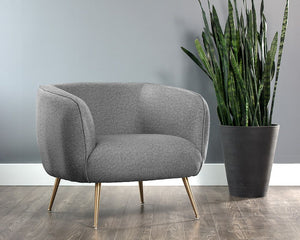 Amara Chair - Misty Grey - Dream art Gallery