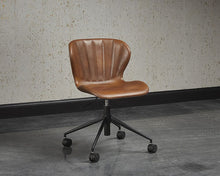 Load image into Gallery viewer, Arabella Office Chair - Bravo Cognac