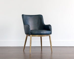 Franklin Dining Armchair - Vintage Blue - Dream art Gallery