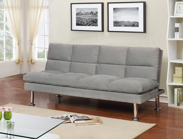 Eloy Convertible Sofa in Grey