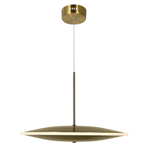 LED PENDANT WITH BRASS FINISH - Dream art Gallery