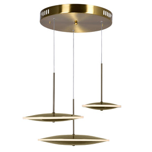 LED PENDANT WITH BRASS FINISH - Dreamart Gallery