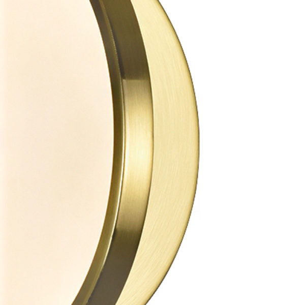 LED SCONCE WITH BRUSHED BRASS FINISH - Dream art Gallery