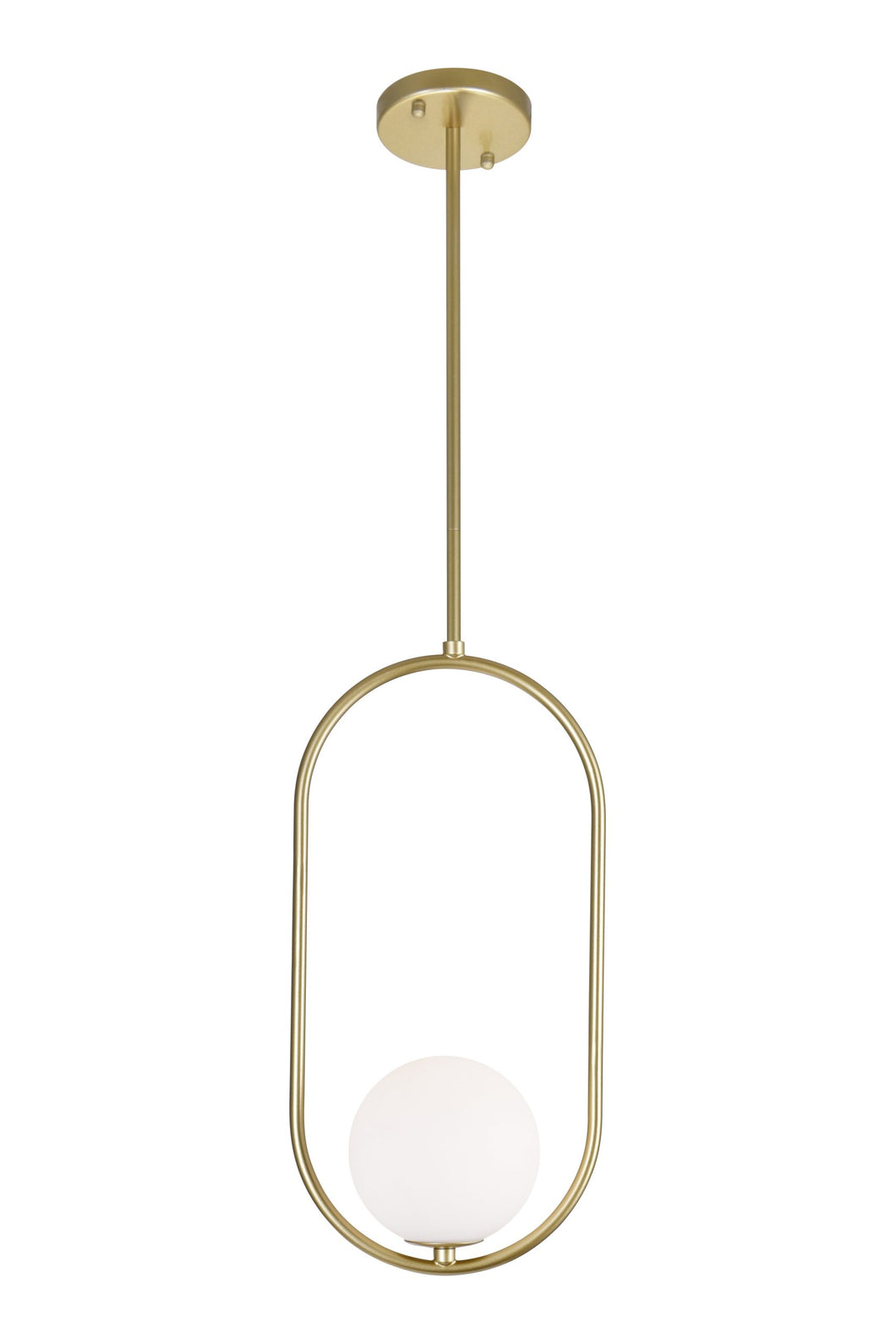 1 LIGHT MINI PENDANT WITH MEDALLION GOLD FINISH - Dream art Gallery