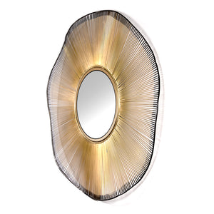 Gold Wire Mirror - Dreamart Gallery