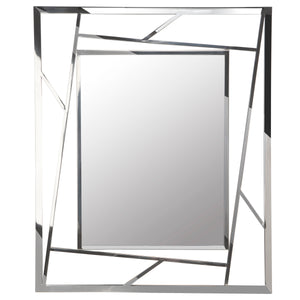 XC-CAROLE SILVER WALL MIRROR - Dream art Gallery