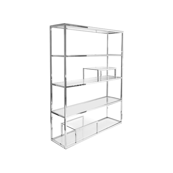 Barolo Shelf – Stainless Steel - Dreamart Gallery