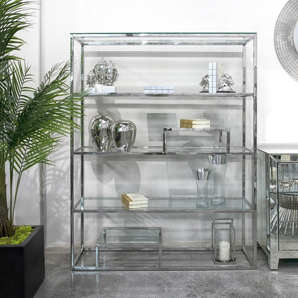 Barolo Shelf – Stainless Steel - Dream art Gallery