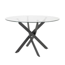 Load image into Gallery viewer, CAROL DINING TABLE BLACK