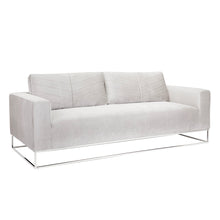 Load image into Gallery viewer, FRANKLIN SOFA GREY VELVET - Dream art Gallery