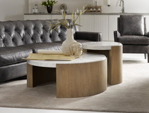 Hooker Furniture Living Room Curata Round Cocktail Table - Dreamart Gallery