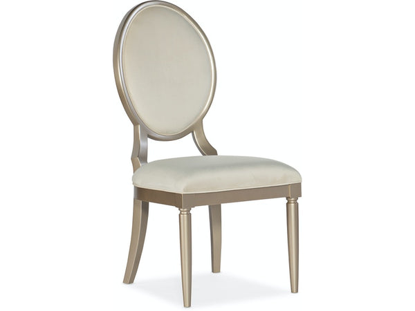 Melange Monique Upholstered Side Chair - Dreamart Gallery