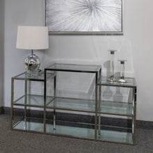 Load image into Gallery viewer, Multi-Level Silver Console Table - Dream art Gallery