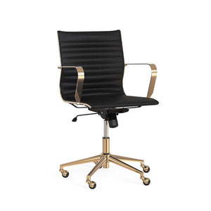 Jessica Office Chair - Black - Dream art Gallery