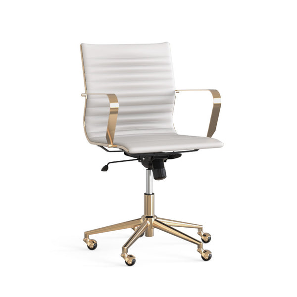 Jessica Office Chair - White - Dreamart Gallery