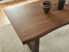 Load image into Gallery viewer, Forrest Rectangular Dining Table in Dark Oak & Grey