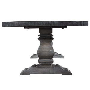 Takhur Rectangular Dining Table in Grey - Dream art Gallery