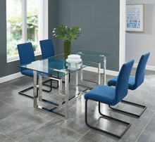 Load image into Gallery viewer, Eros Dining Table in Silver - Dream art Gallery