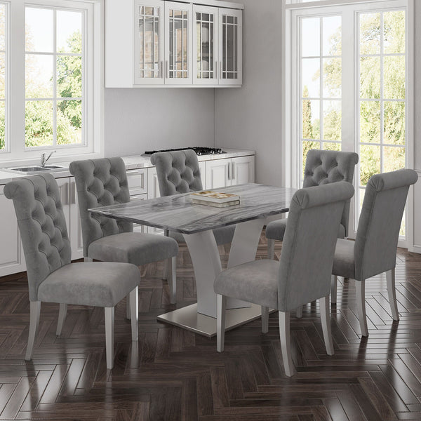 Napoli Rectangular Dining Table - Dream art Gallery