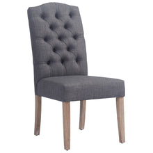 Load image into Gallery viewer, Lucian Side Chair in Grey - Dream art Gallery