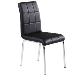 Solara II Side Chair in Black